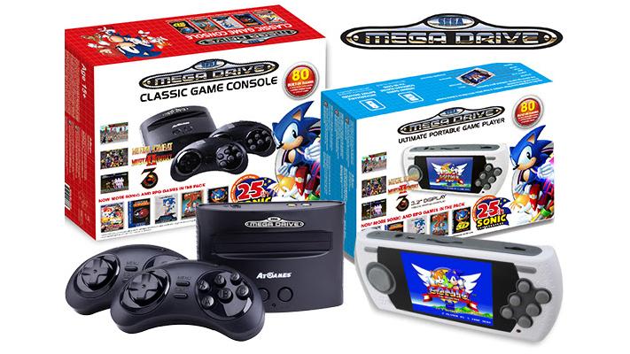 SEGA Megadrive 25th Sonic Anniversary AtGames