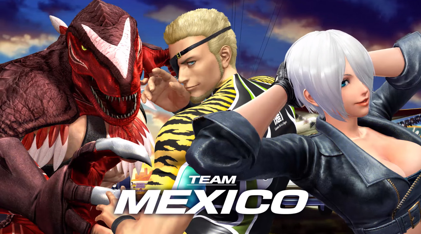 The King of Fighters Team Mexico