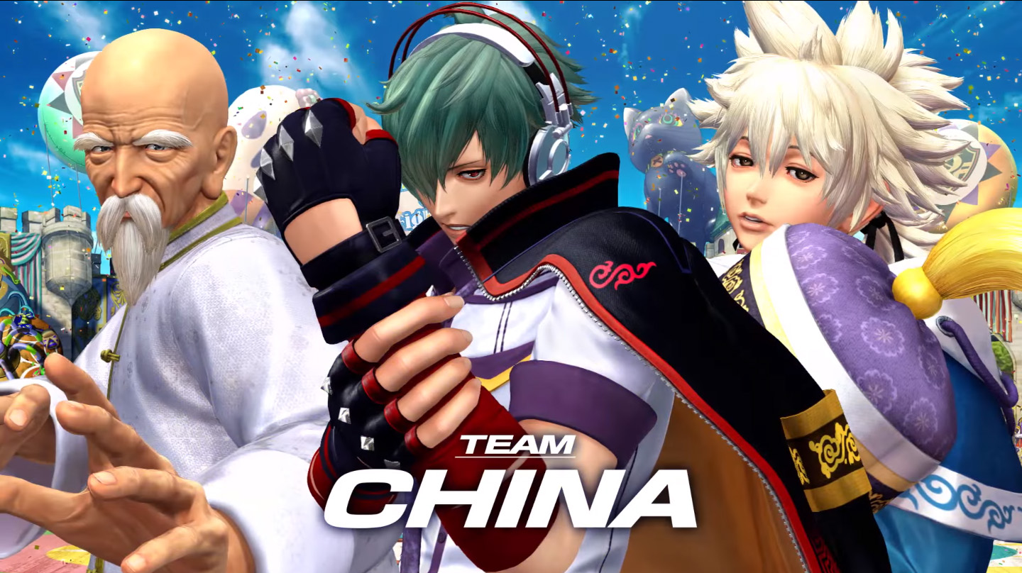 The King of Fighters XIV Team China