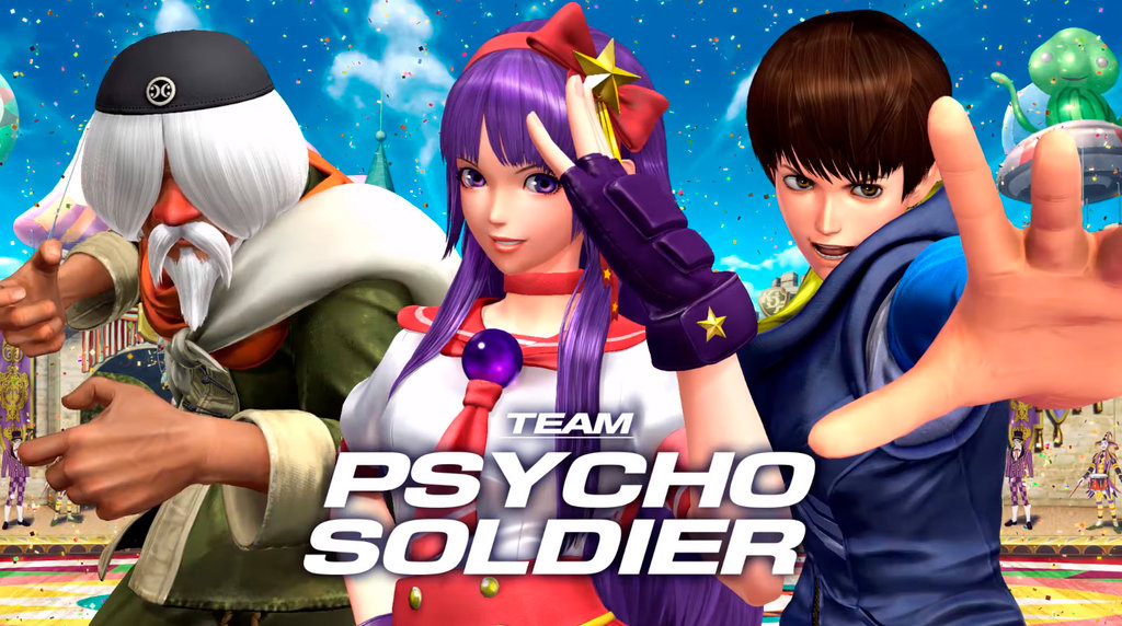 The King of Fighters XIV - Team Psycho Soldier