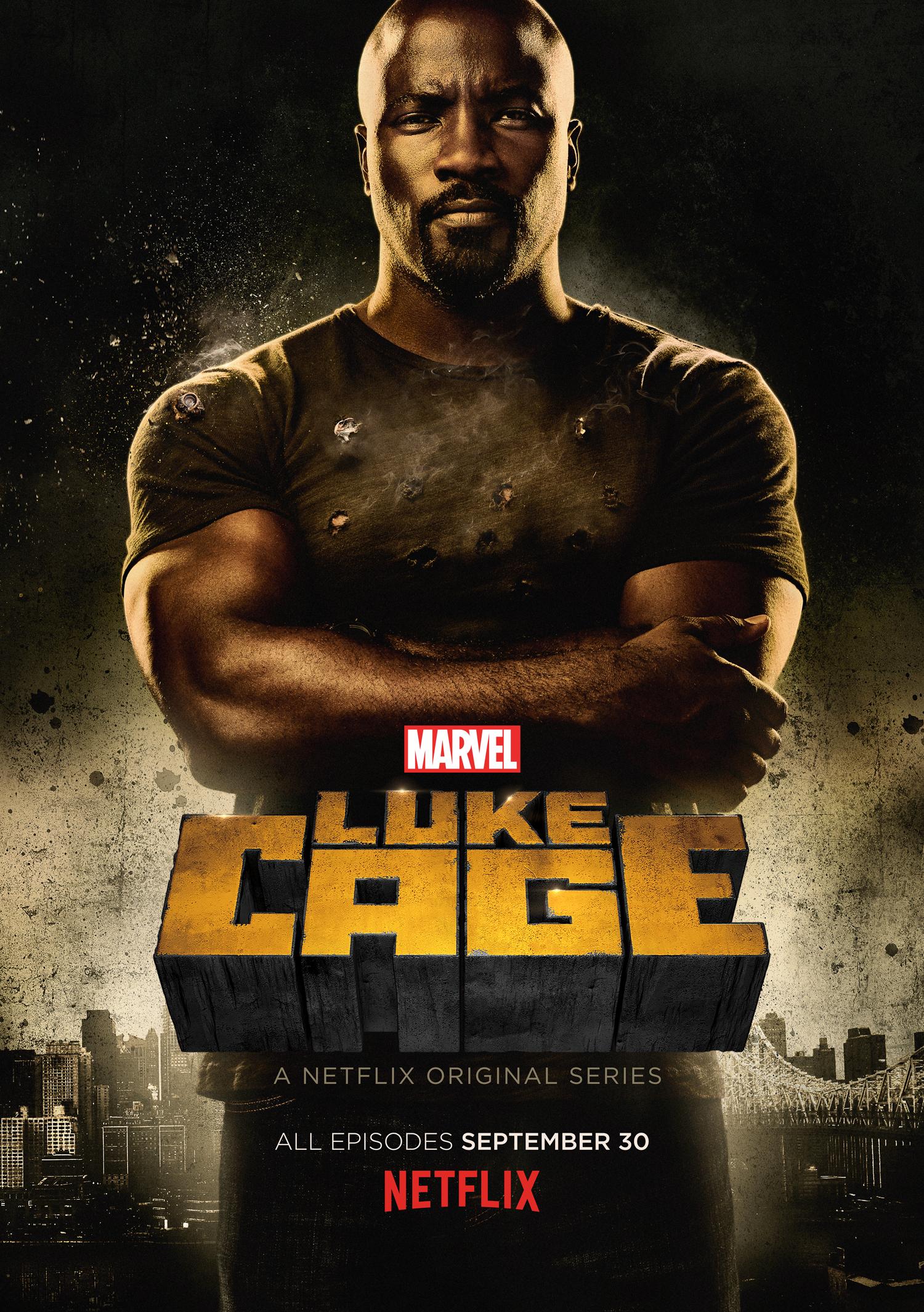 Luke Cage - Netflix - Marvel - Affiche