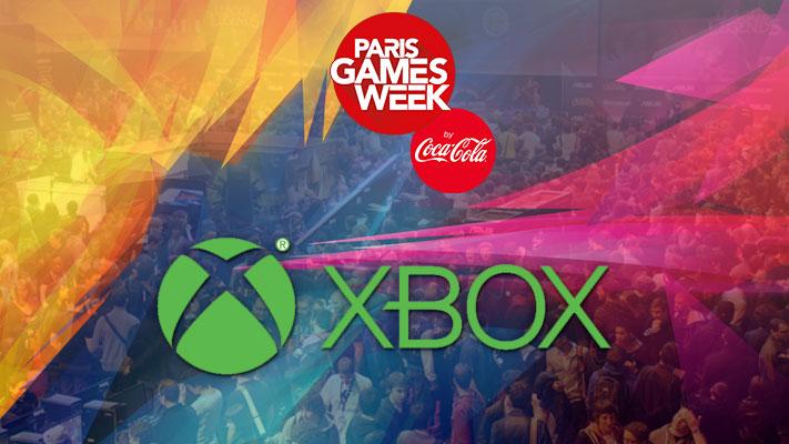 PGW - Microsoft - Xbox - Paris Games Week