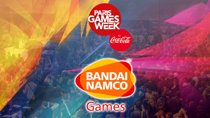 Paris Game Week 2016 - Bandai Namco