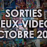 Agenda des sorties Jeux Vidéo (Octobre 2016)