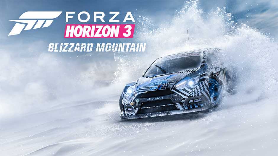 Forza Horizon 3 le DLC Blizzard Mountain daté