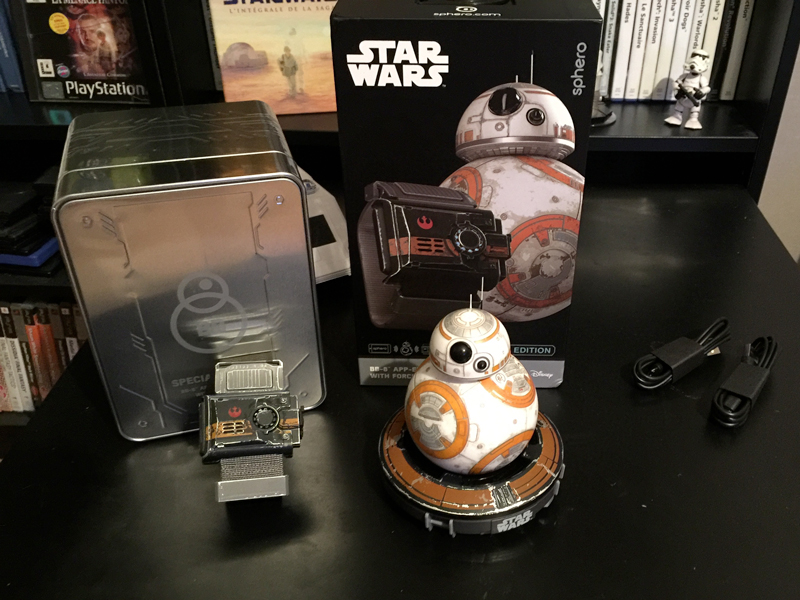 Geek Show #18 – Unboxing du Sphero BB-8™ with Force Band™
