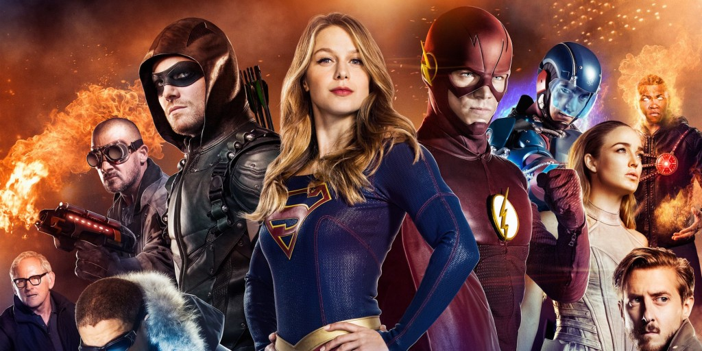 Heroes VS Aliens The CW DC Comics
