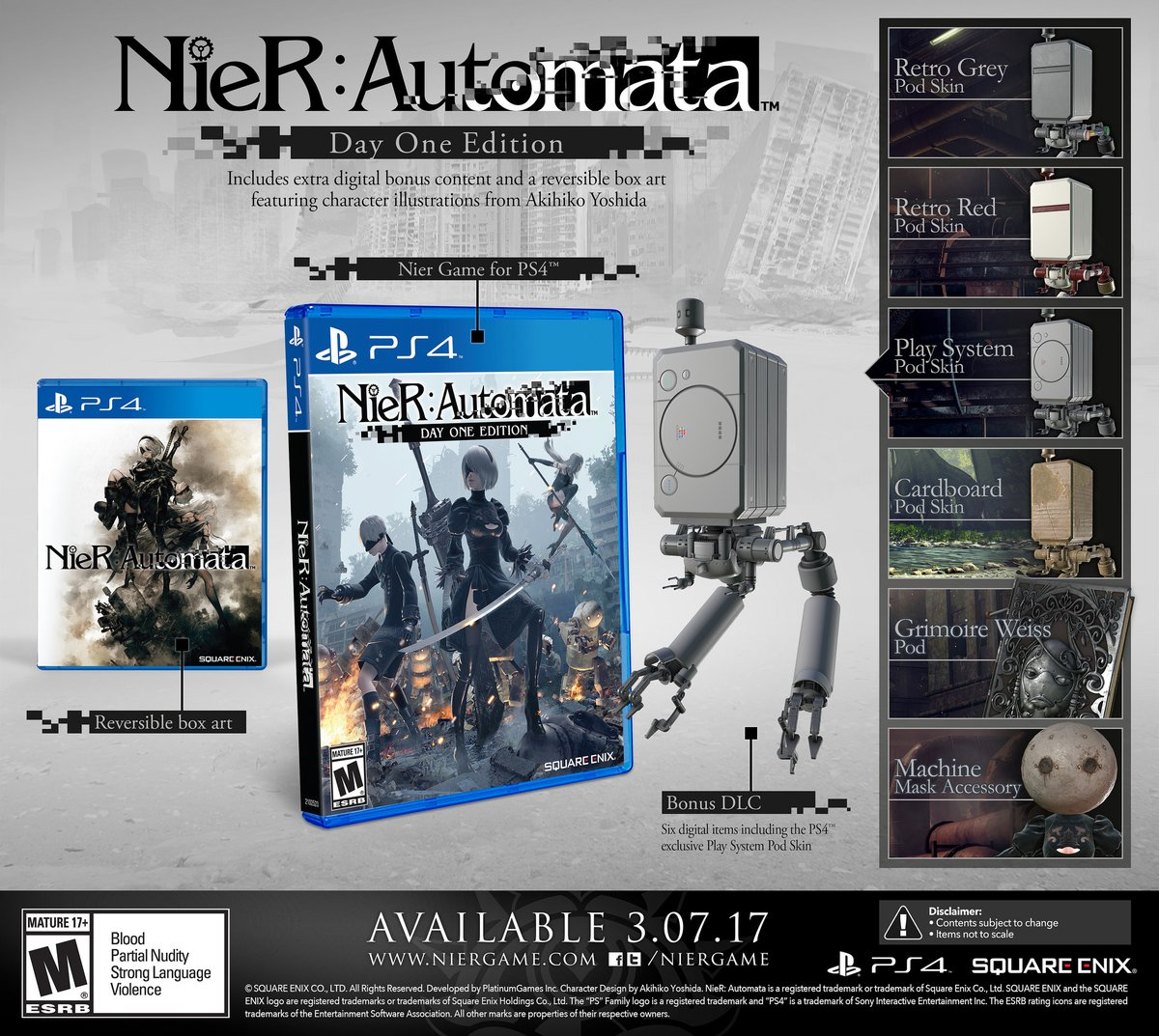 NieR: Automata-day-one-edition