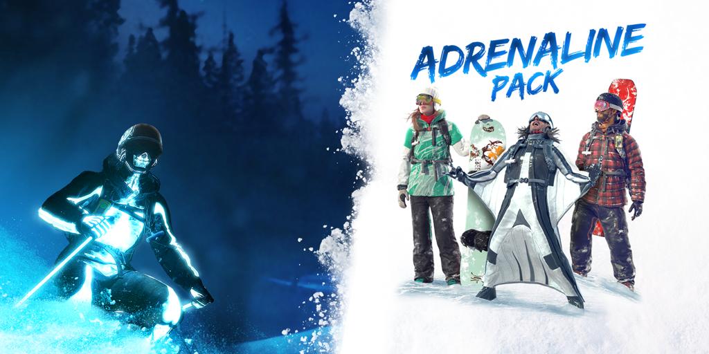 Steep Adrenaline Pack