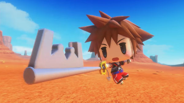 World of Final Fantasy - Sora DLC