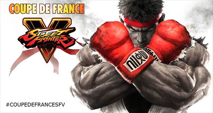 Coupe de France Street Fighter V au Grand Rex le 11 mars 2017