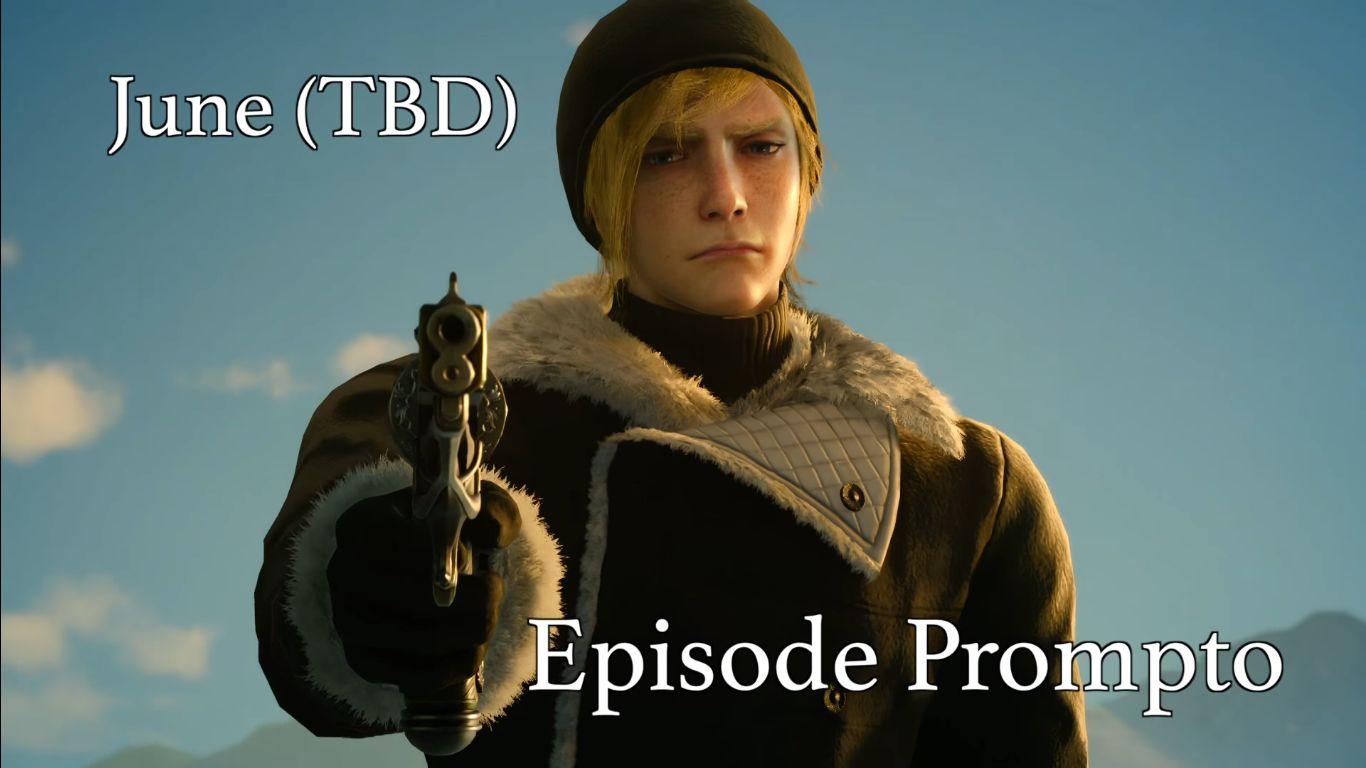 Final Fantasy XV DLC Prompto