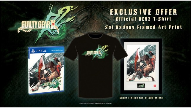 Guilty Gear Xrd REV2 limited edition