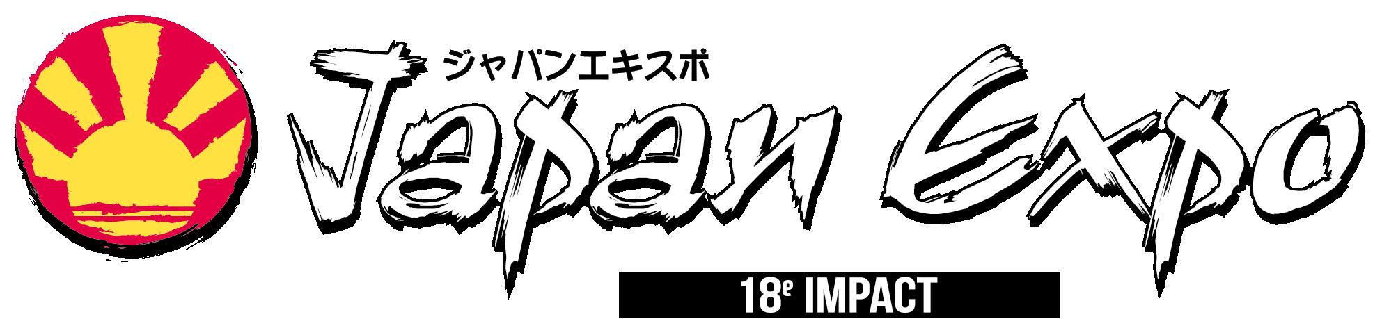 Logo Japan Expo 18e Impact