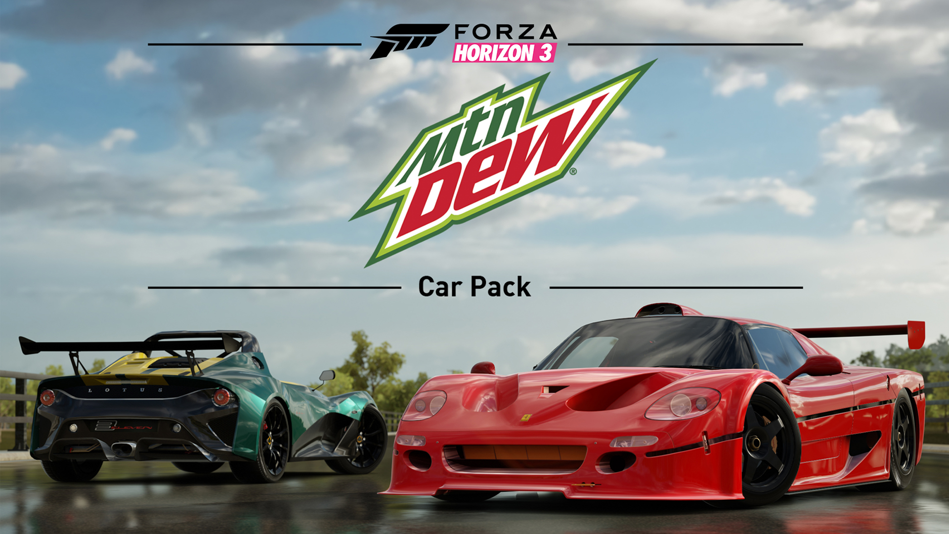 Forza Horizon 3 Moutnain Dew Car Pack Hero