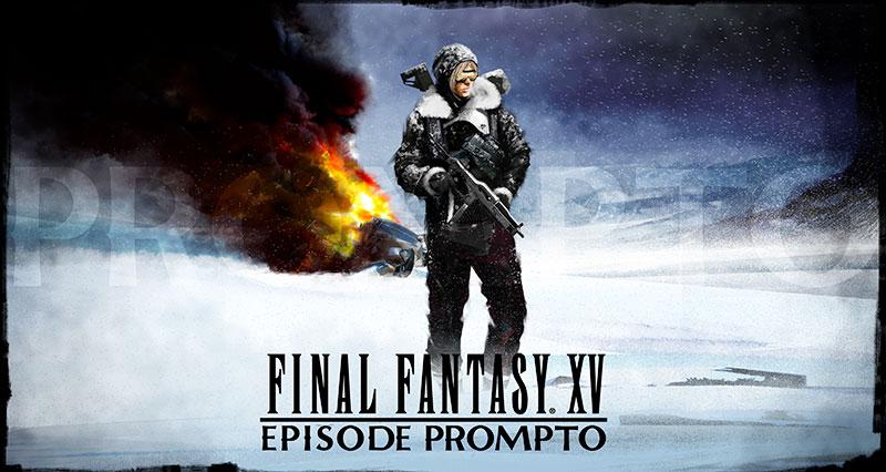 Final Fantasy XV Episode Prompto
