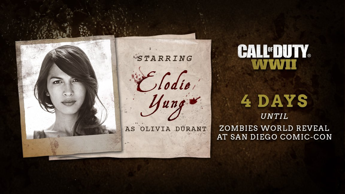 Call of Duty: WWII - Zombies Elodie Young