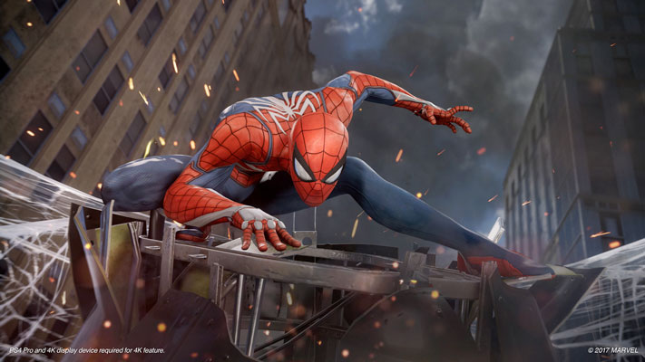 Spider-Man PS4 D23