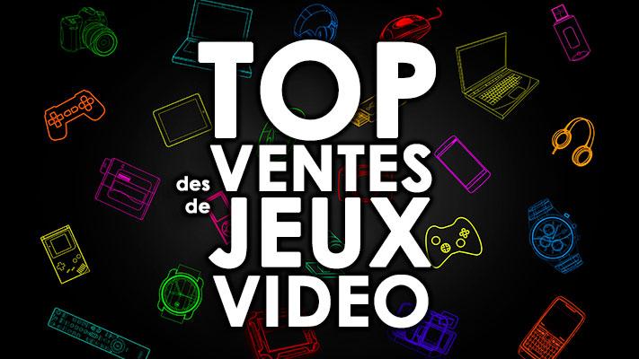 TOP des Ventes de Jeux Vidéo