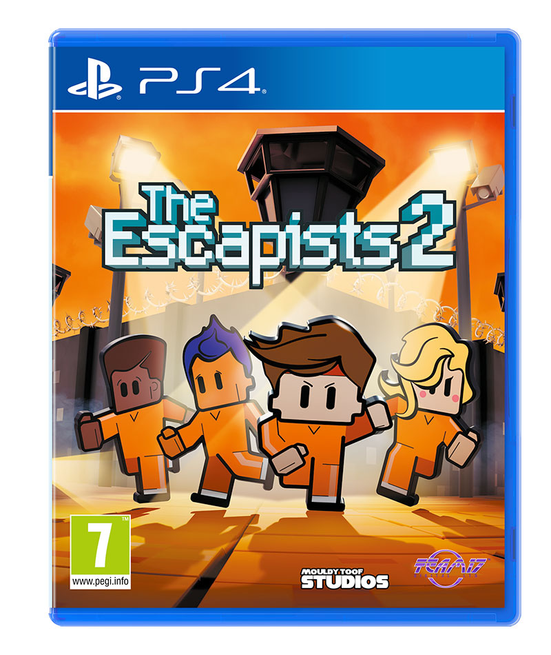 une date de sortie pour the escapists 2 sur ps4 et xbox one. Black Bedroom Furniture Sets. Home Design Ideas