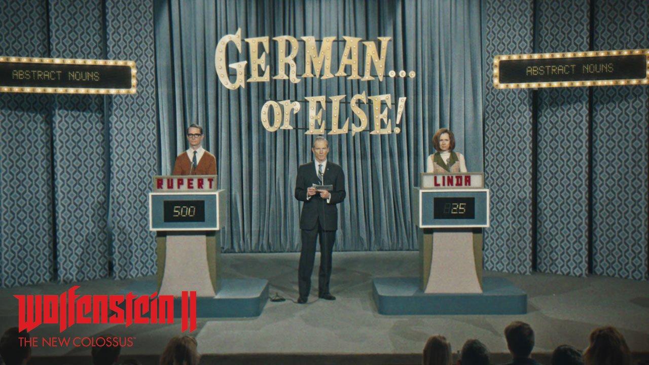 Wolfenstein II: The new Colossus - « En allemand, sinon… »
