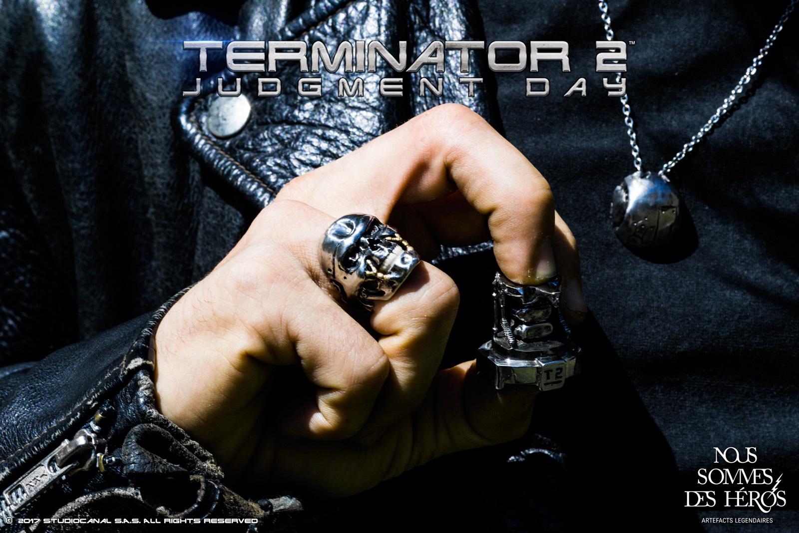 Bijoux Terminator 2 - Nous sommes des héros
