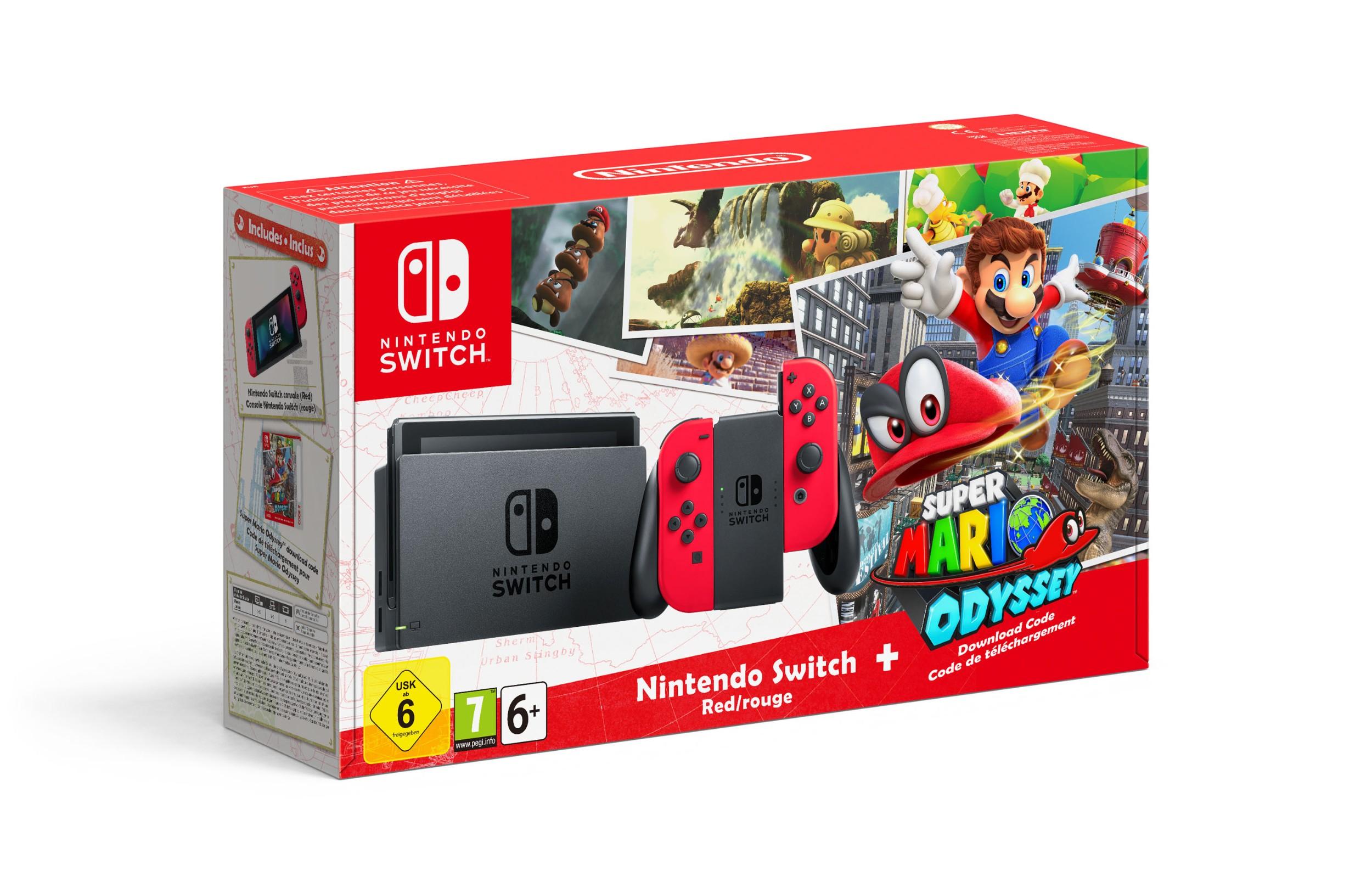 Bundle Nintendo Switch Super Mario Odyssey