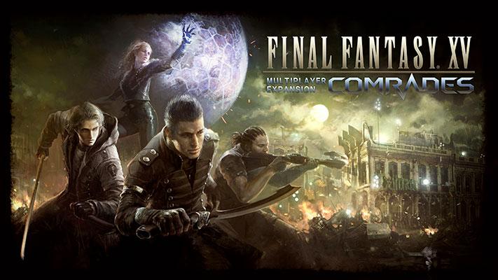 Final-Fantasy-XV-Comrades-DLC-Frères-d'Armes