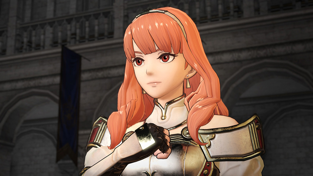 Fire Emblem Warriors Celica