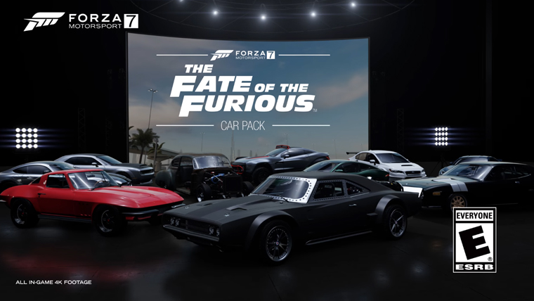Forza Motorsport 7 - The Fate of the Furious