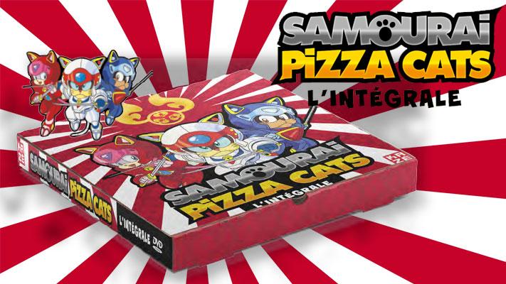 Samourai Pizza Cats