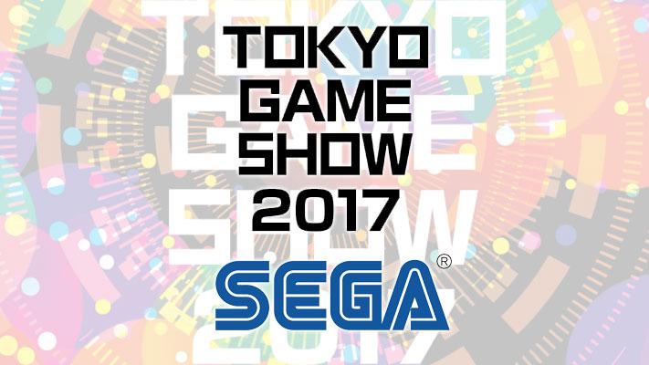 TGS 2017 - SEGA - Tokyo Game Show 2017TGS 2017 - SEGA - Tokyo Game Show 2017