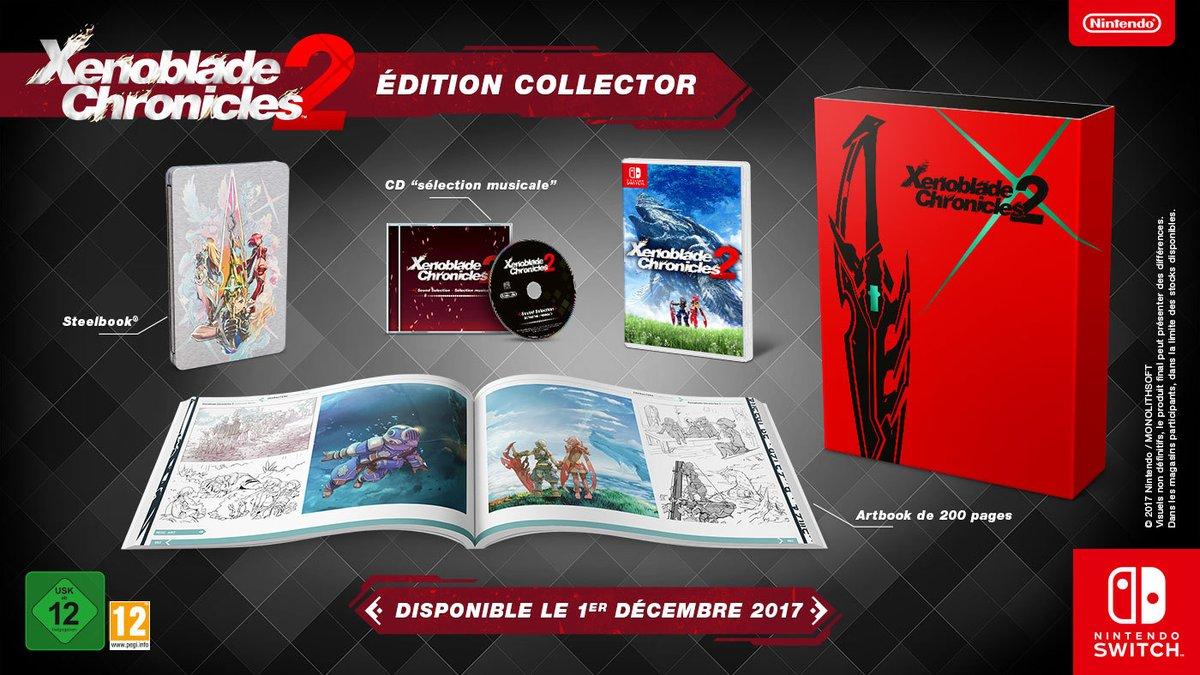 Xenoblade Chronicles 2 Edition Collector