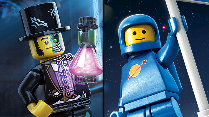 LEGO Worlds - Monsters Classic Space DLC