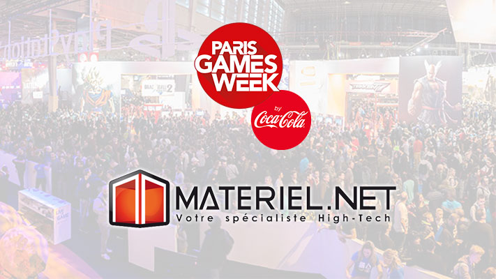 Paris Games Week - Materiel.net