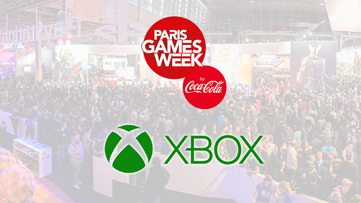 Paris Games Week - Microsoft Xbox