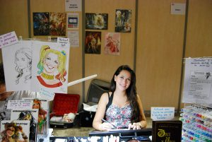 Paris Manga & Sci Fi Show 24 - Dessin - Virginie Siveton