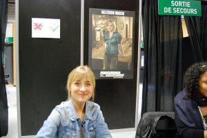 Paris Manga & Sci Fi Show 24 - Smallville - Allison Mack 2