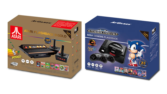 SEGA Megadrive Flashback HD - Atari Flashback 8 Gold HD
