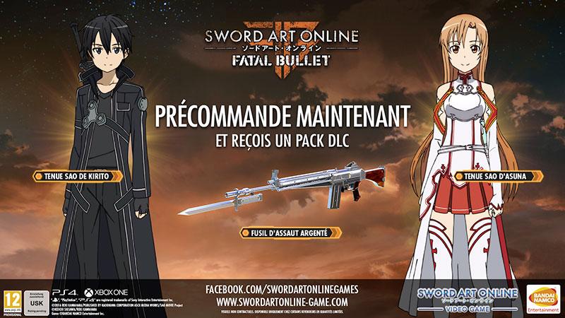 Sword Art Online: Fatal Bullet PRECOMMANDE