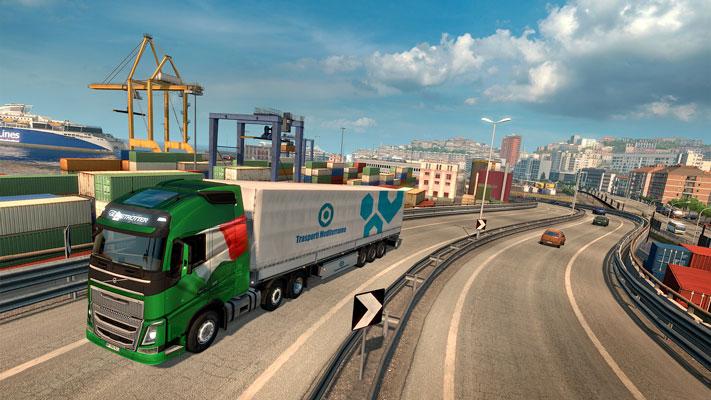 Euro Truck Simulator 2 Italia