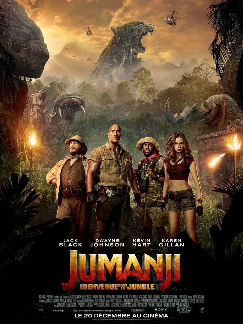 Jumanji - Bienvenue dans la jungle