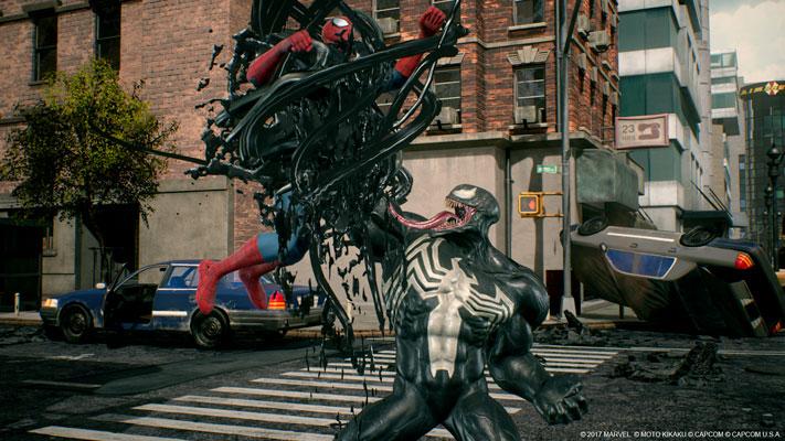 Marvel vs. Capcom Infinite Venom Spider-Man
