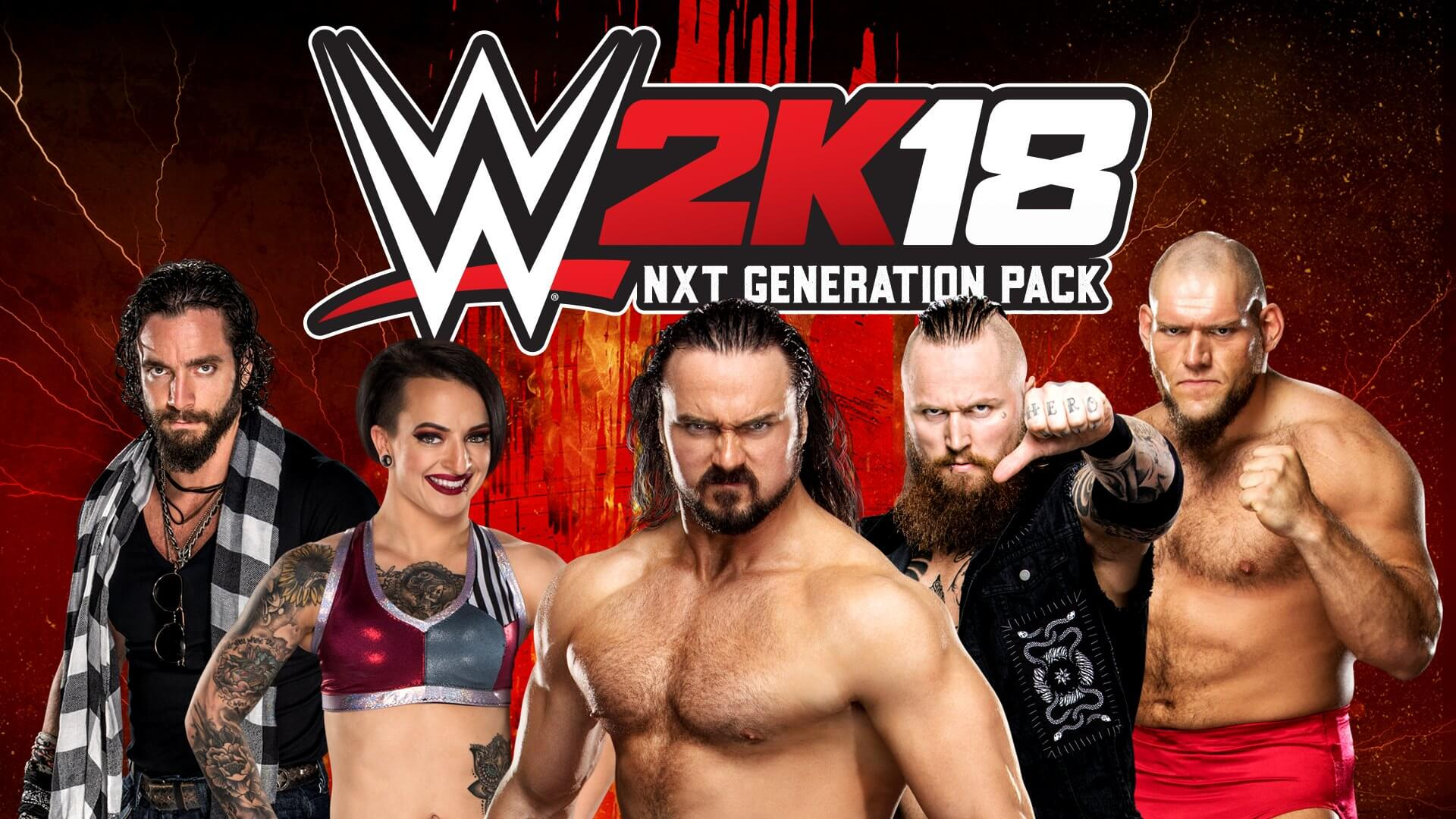 WWE 2K18 NXT Generation