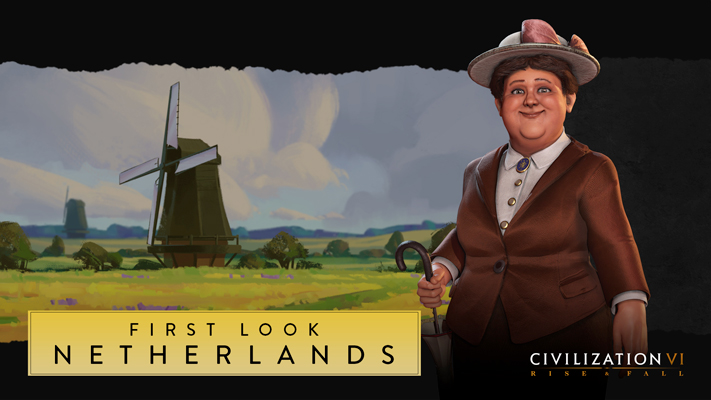 Sid Meier's Civilization VI: Rise and Fall - la reine Wilhelmine