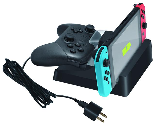 Fini les câbles emmêlés lorsqu\u0027il faut charger la console et la manette  Switch™.