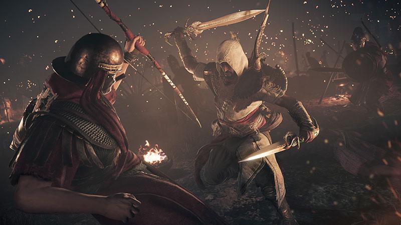 Assassins Creed Origins - DLC1 - DualBladesFight_1516109162