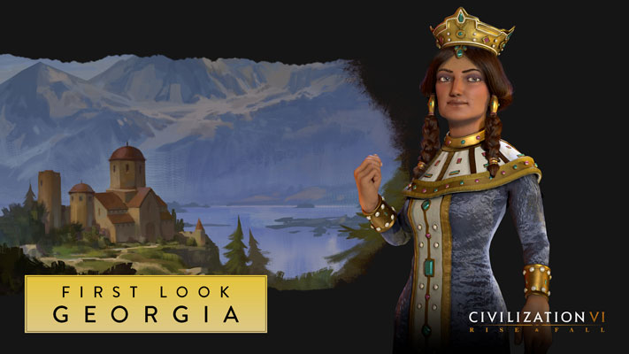 Civilization VI Rise and Fall - Géorgie