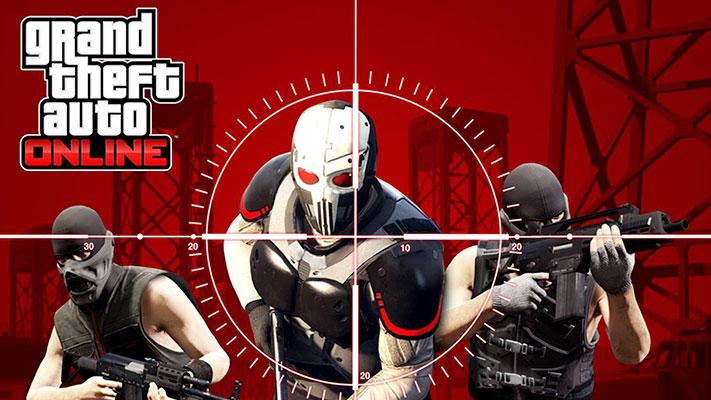 GTA Online - Hardest Target Adversary Mode cover