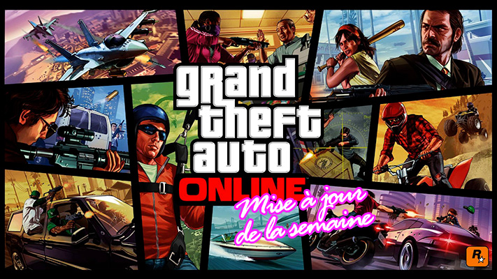 GTA Online - MAJ - Grand Theft Auto Online